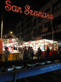 Italian market in Little Italy
