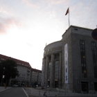 Volksbühne at sunset