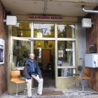In front of the Waansinn Berlin shop