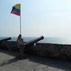 Cartagena city walls