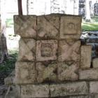 Mayan version of Tic-tac-toe (tris)