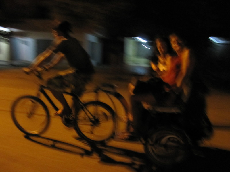 Yeah! Rickshaw!
