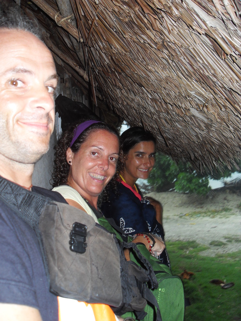 Sheltering ourselves from the tropical rain
