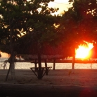 Sunset at Coveñas