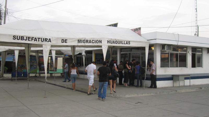At the border Peru/Ecuador