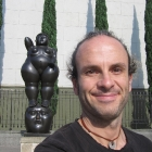 Me in Plaza Botero