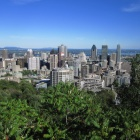 Downtown Montréal from the Mont Royal