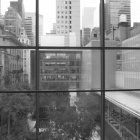 At the MoMA—The patio