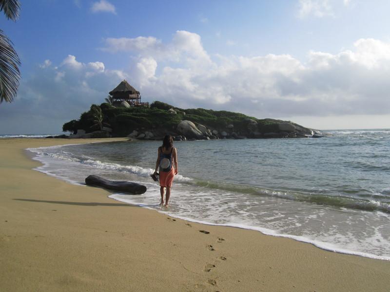 Tayrona's beach and Núria