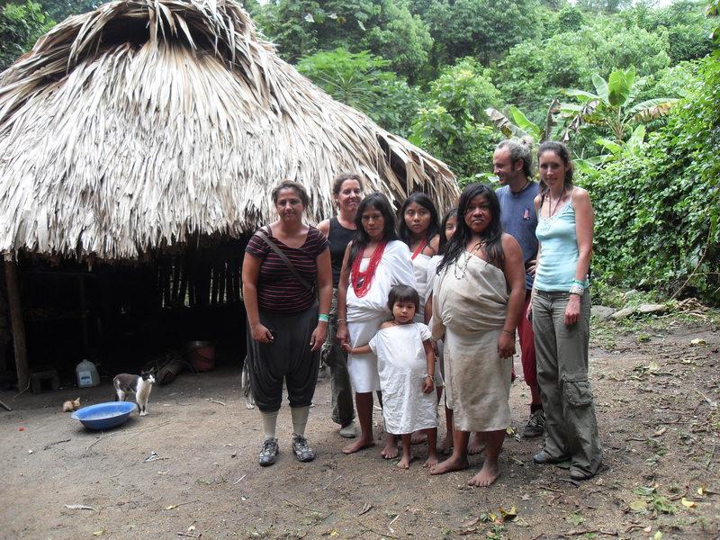 Tayrona\'s locals and us