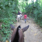My horse, riding to Tayrona