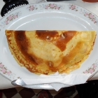 Crêpe for breakfast