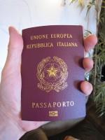 Shiny new passport