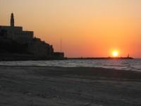 Sunset …