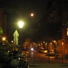 Moon over Schönhauser Allee
