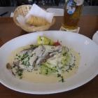 Lunch at Kavita's restaurant