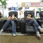 Areli and Iraís simulating a massage