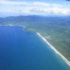 The jungle and the beach of the Darién