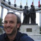 The Malecón, me and the Libertadores (Bolívar and San Martín)