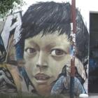 Street art at La Mariscal