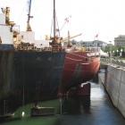 Big boats at the Vieux-Port
