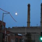 Full moon over Boulevard Rosemont
