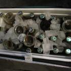 Icy beers in Brooklyn