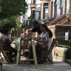 Street festival in Brooklyn