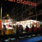 Italian market in Little Italy