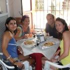 Breakfast time in Santa Marta