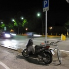 Parking for motorcycles and bicycles. Literally!
